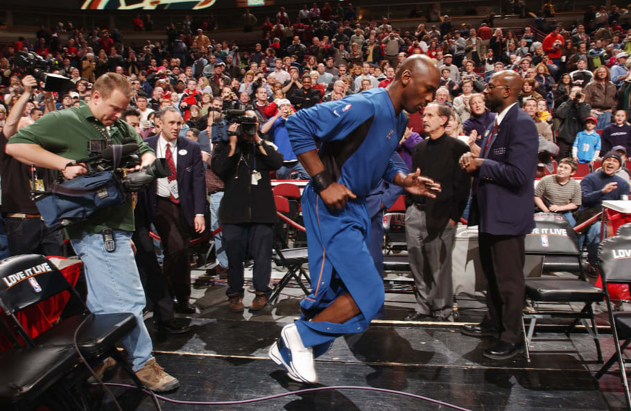 Yes, Michael Jordan Wore Team Jordans in the NBA | Complex
