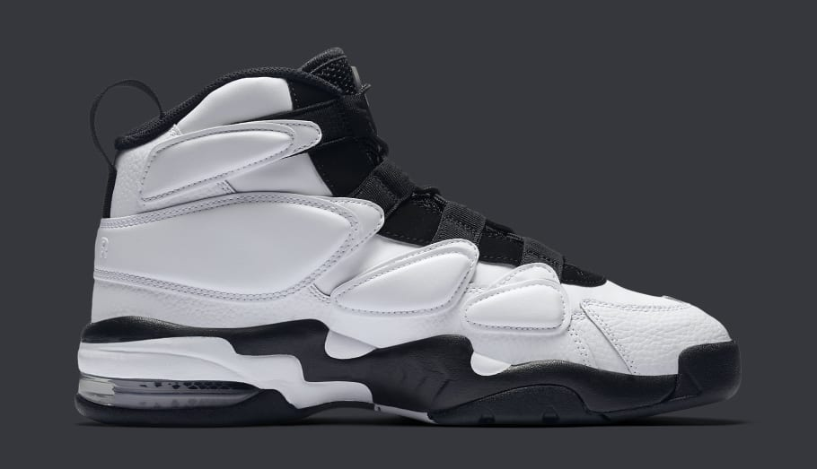 Look For The Nike Air Max 2 Uptempo 94 White Black Soon