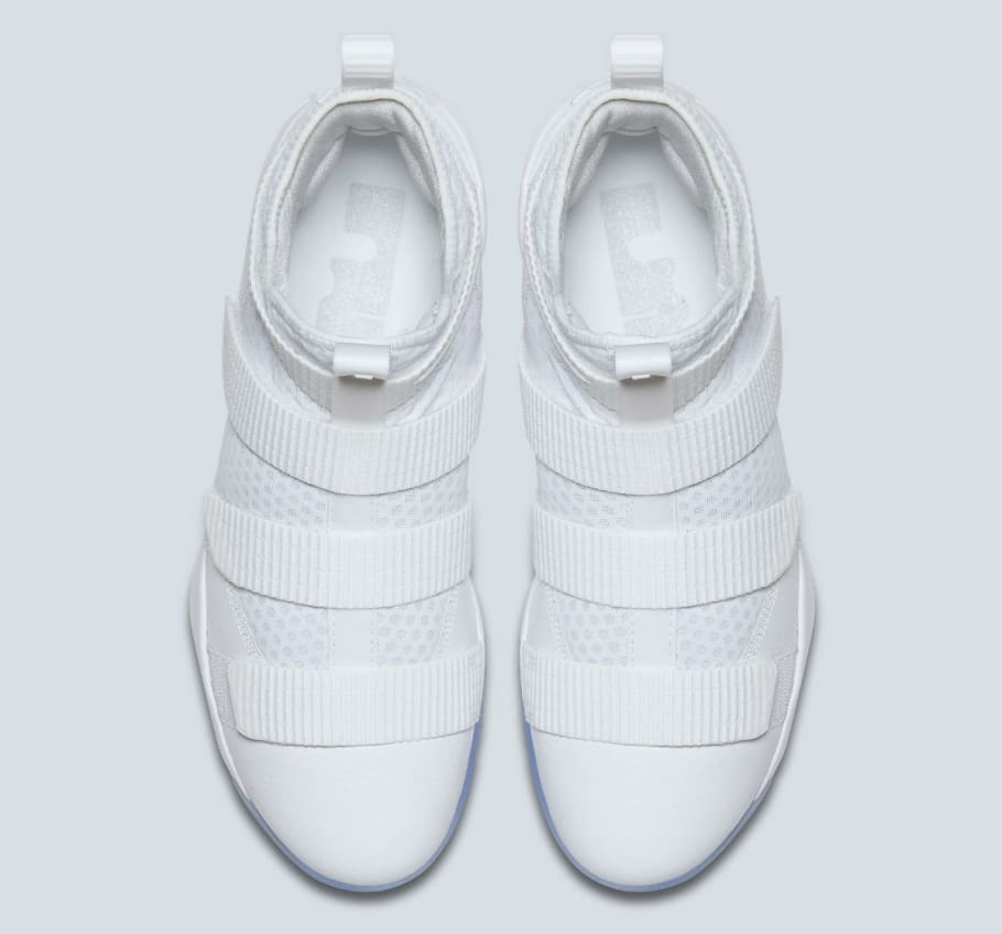the latest af475 5e800 Nike LeBron Soldier 11 White Release Date 897644-103 | Sole ...