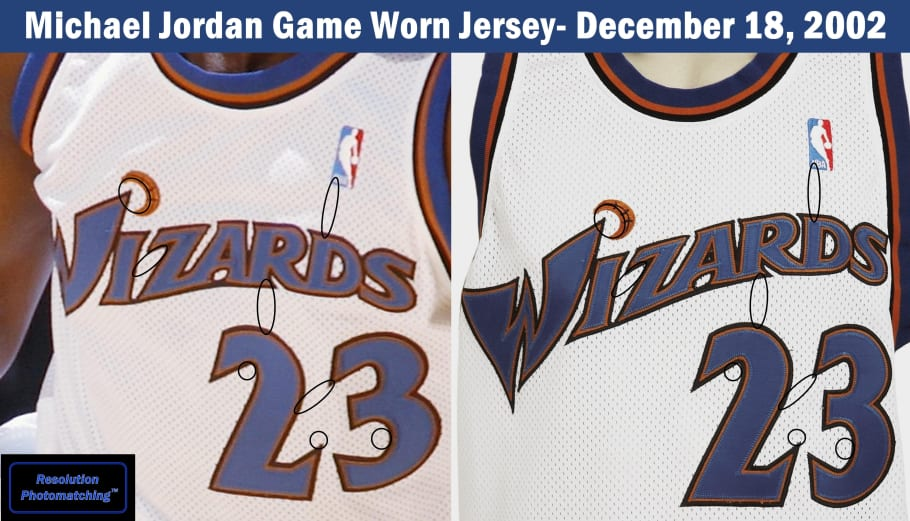 detailed look 167be 41dfc Why Someone Paid $50,000 for Michael Jordan's Wizards Jersey ...