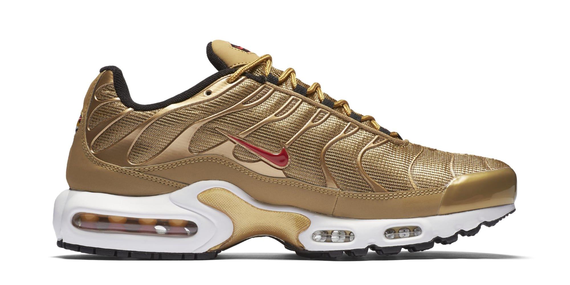 super popular 59707 1ab5e Nike Air Max Plus 'Metallic Gold' 903827-700 Release Date ...