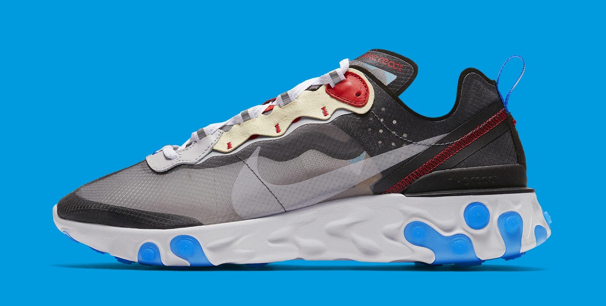 Nike React Element 87 Dark Grey AQ1090 002