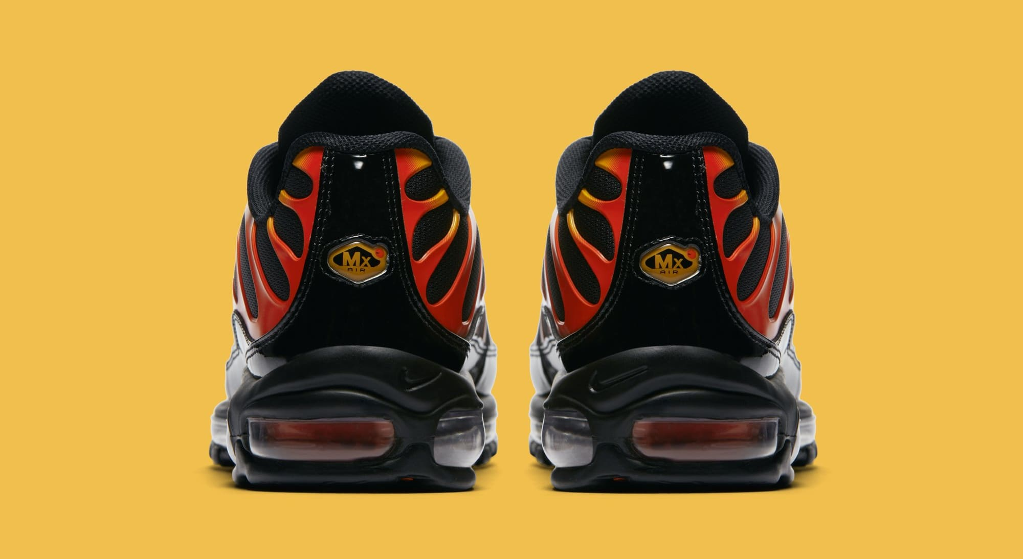 Nike Air Max 97Plus 'BlackEngineShock Orange' AH8144 002