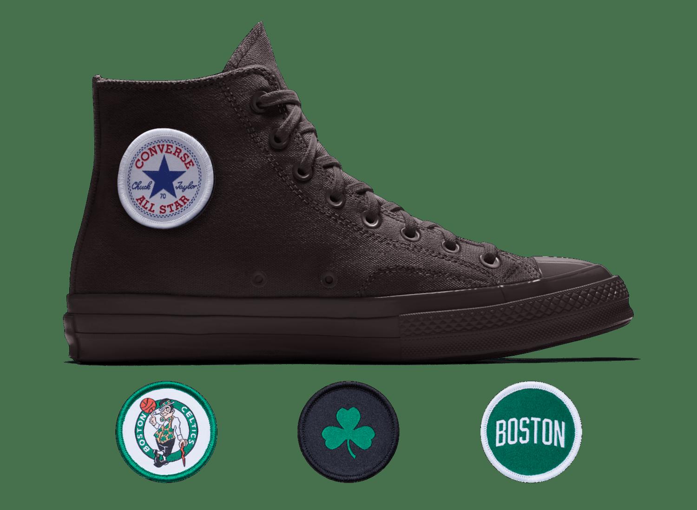 Converse X NBA Custom Chuck Taylor High Top Celtics