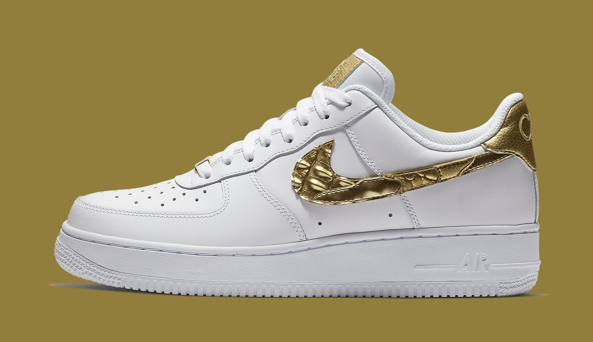 imagina Ambientalista Gastos de envío  Nike Air Force 1s Inspired Cristiano Ronaldo Childhood | Sole Collector