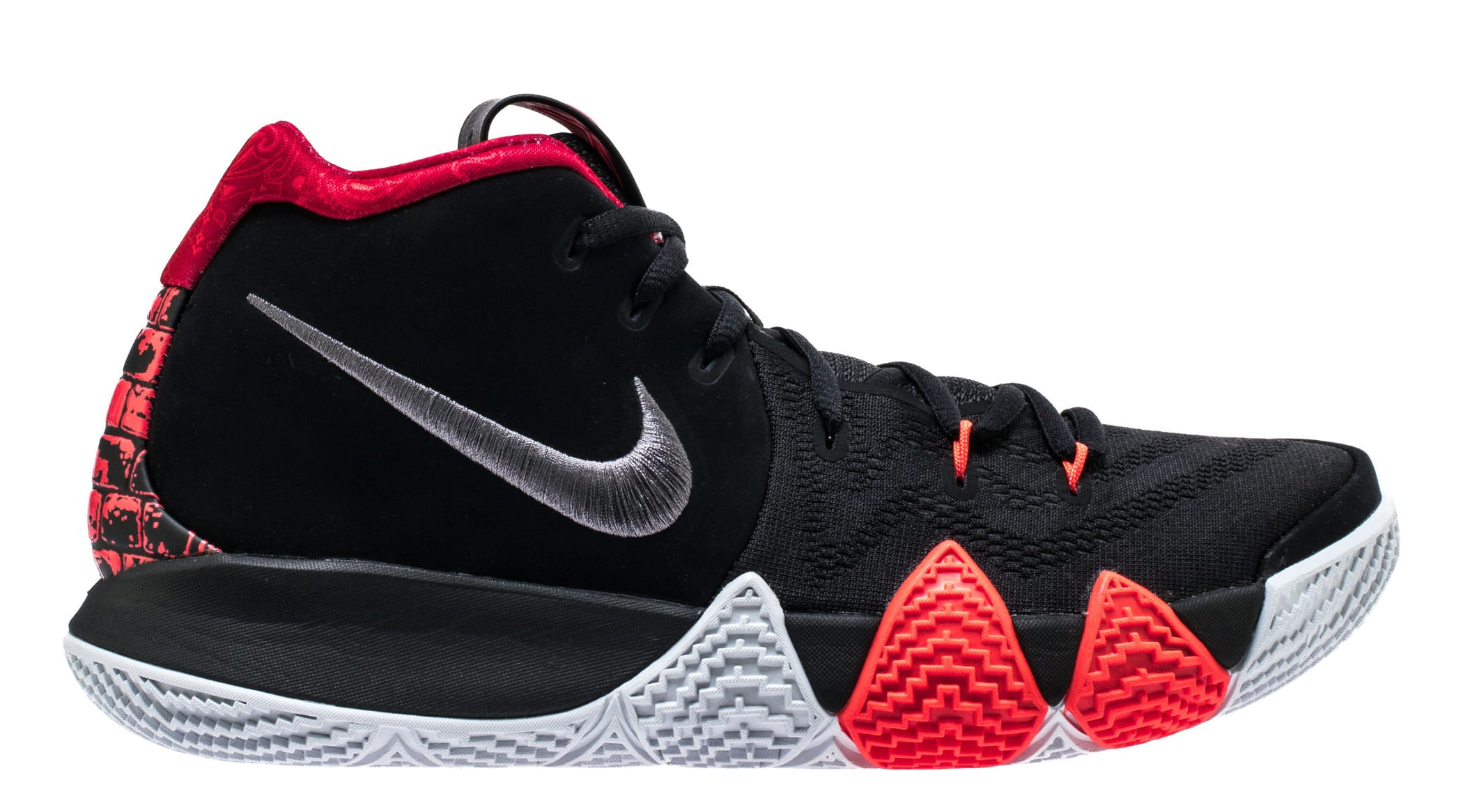 cheap for discount 594e6 6a6b2 Nike Kyrie 4 'Black/Dark Grey' 943806-005 Release Date ...