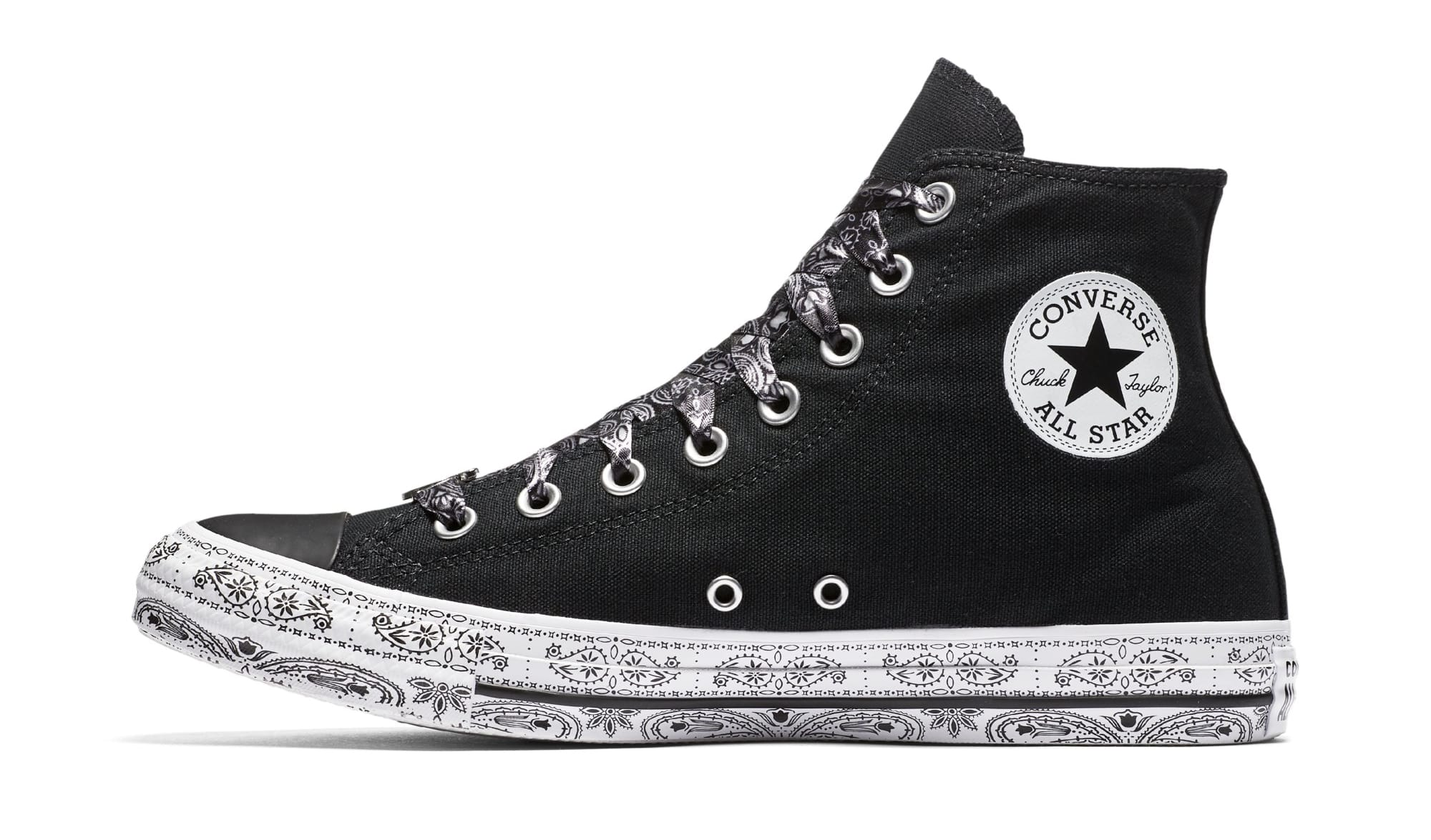 Figura Comprometido granero  Athletic Shoes 162234C Multi Sizes Black//Wh Women's Converse x Miley Cyrus  Chuck Taylor AS Hi Clothing, Shoes & Accessories vishawatch.com