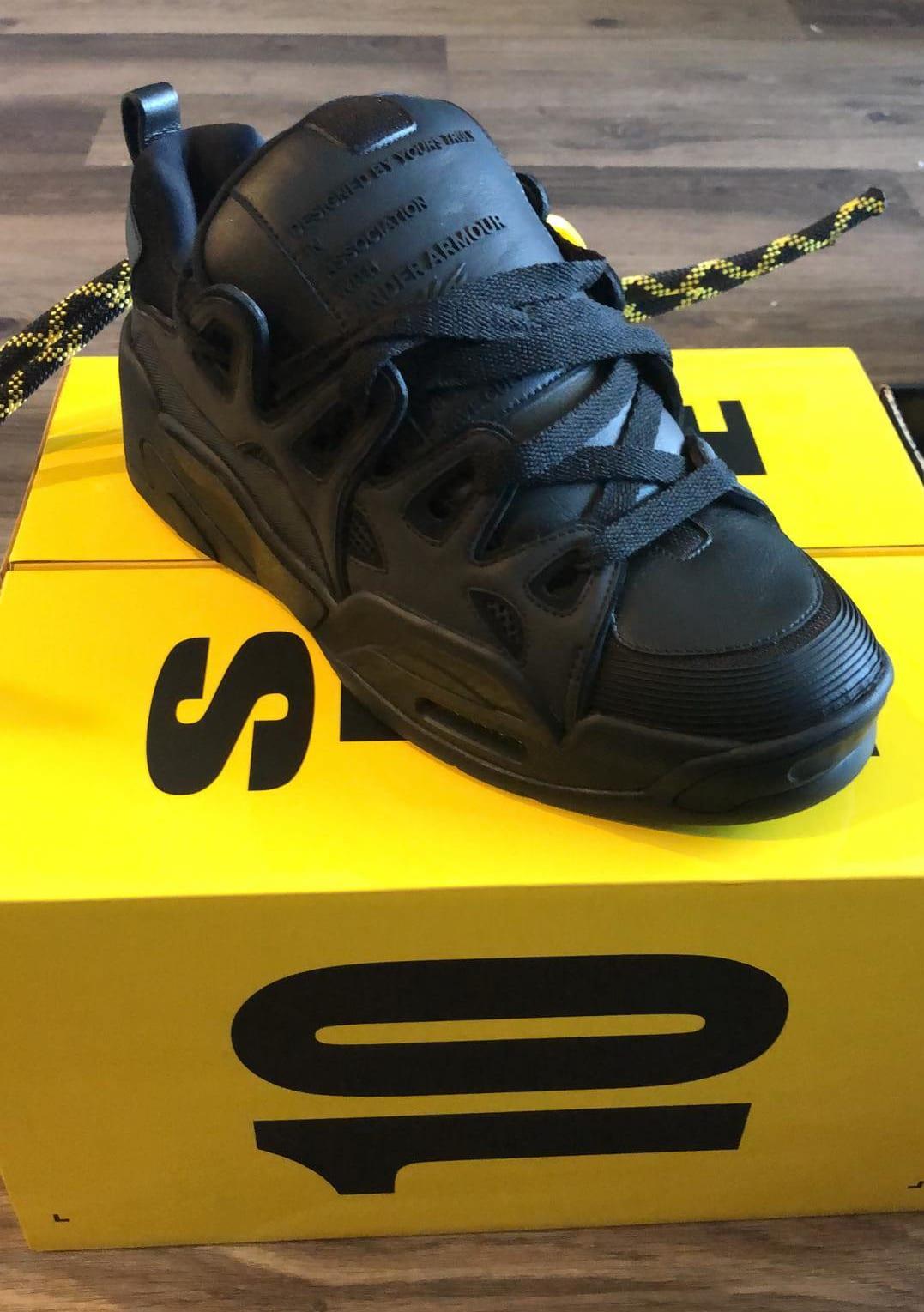 Modernización Vinagre frase  ASAP Rocky Under Armour Skate Shoe Black Release Date | Sole Collector