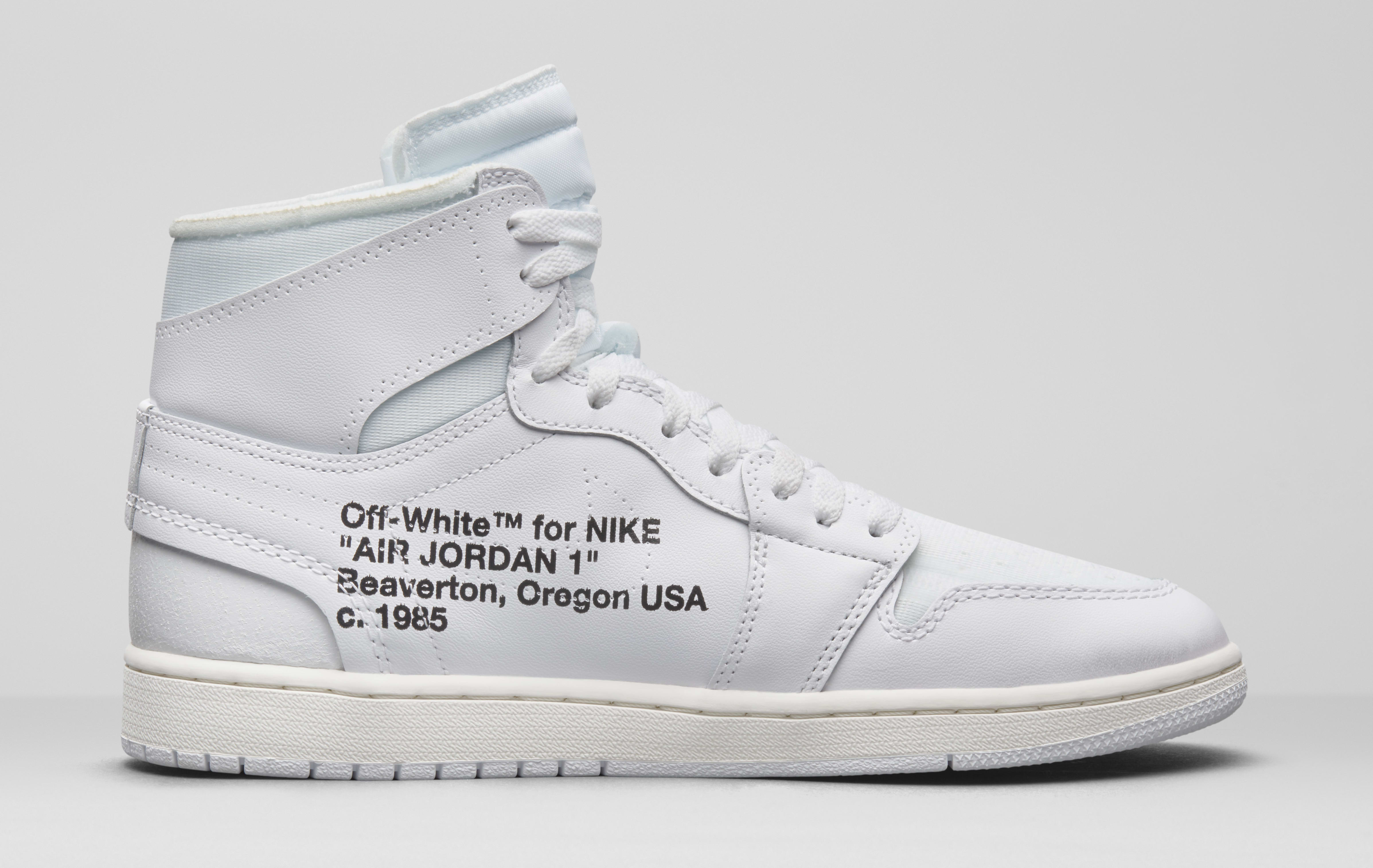 quality design bc789 d5204 Off White Air Jordan 1 AQ0818-100 Release Date | Sole Collector