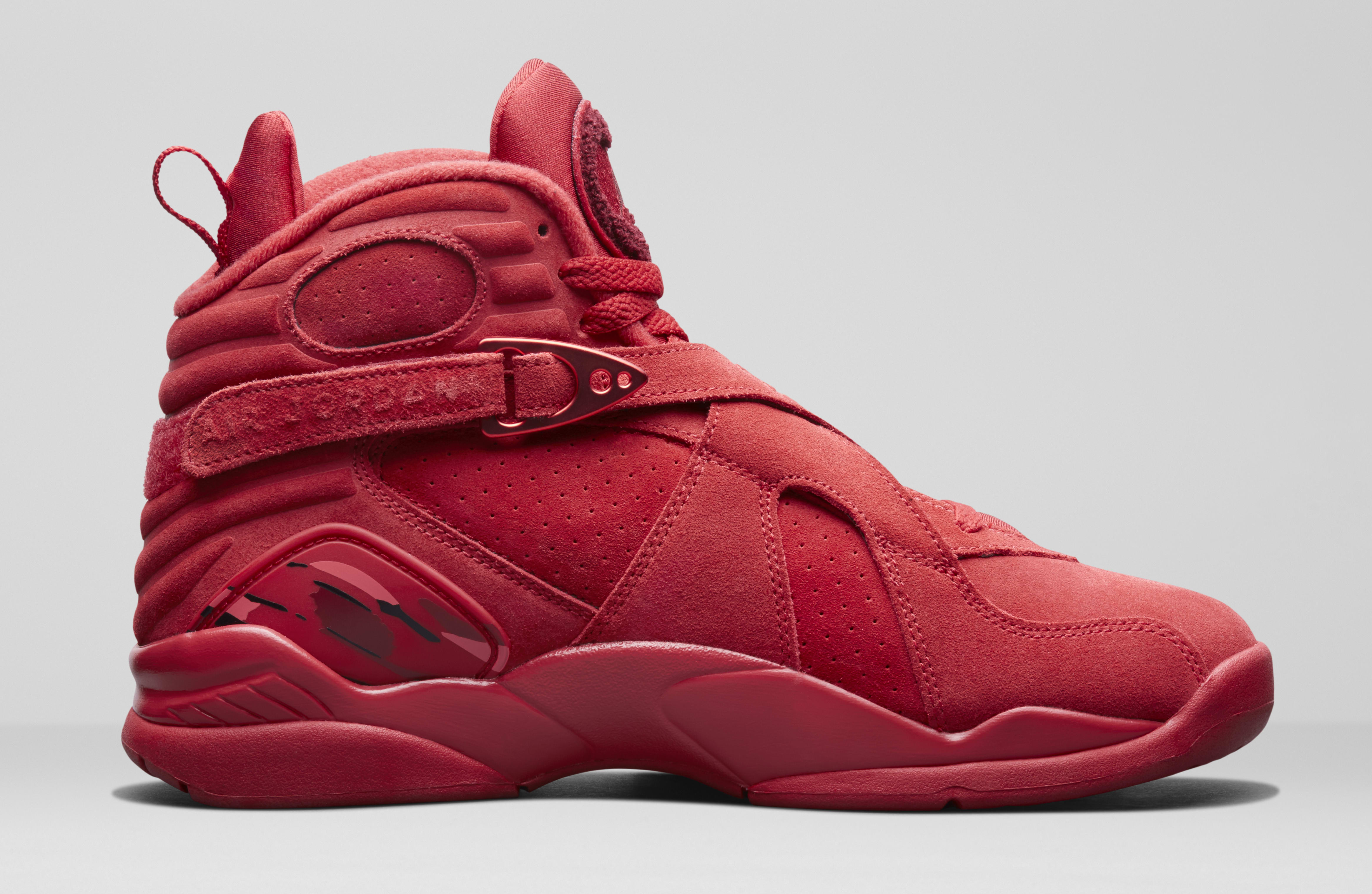 uk availability aad68 d6f2b WMNS Air Jordan 8 'Valentine's Day' Gym Red/Ember Glow-Team ...