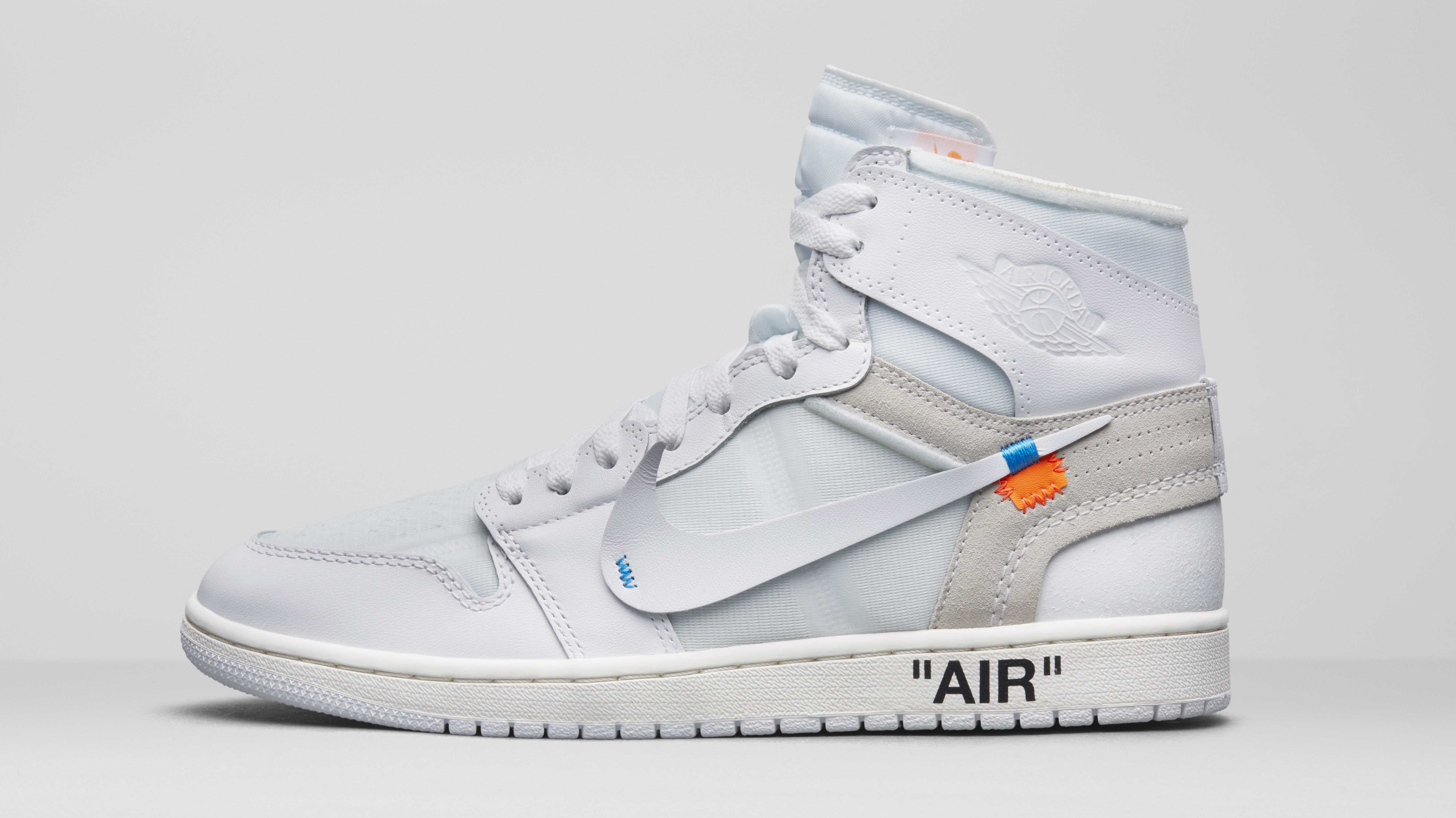 Air Jordan 1 x Off-White AQ0818-100 (Lateral)