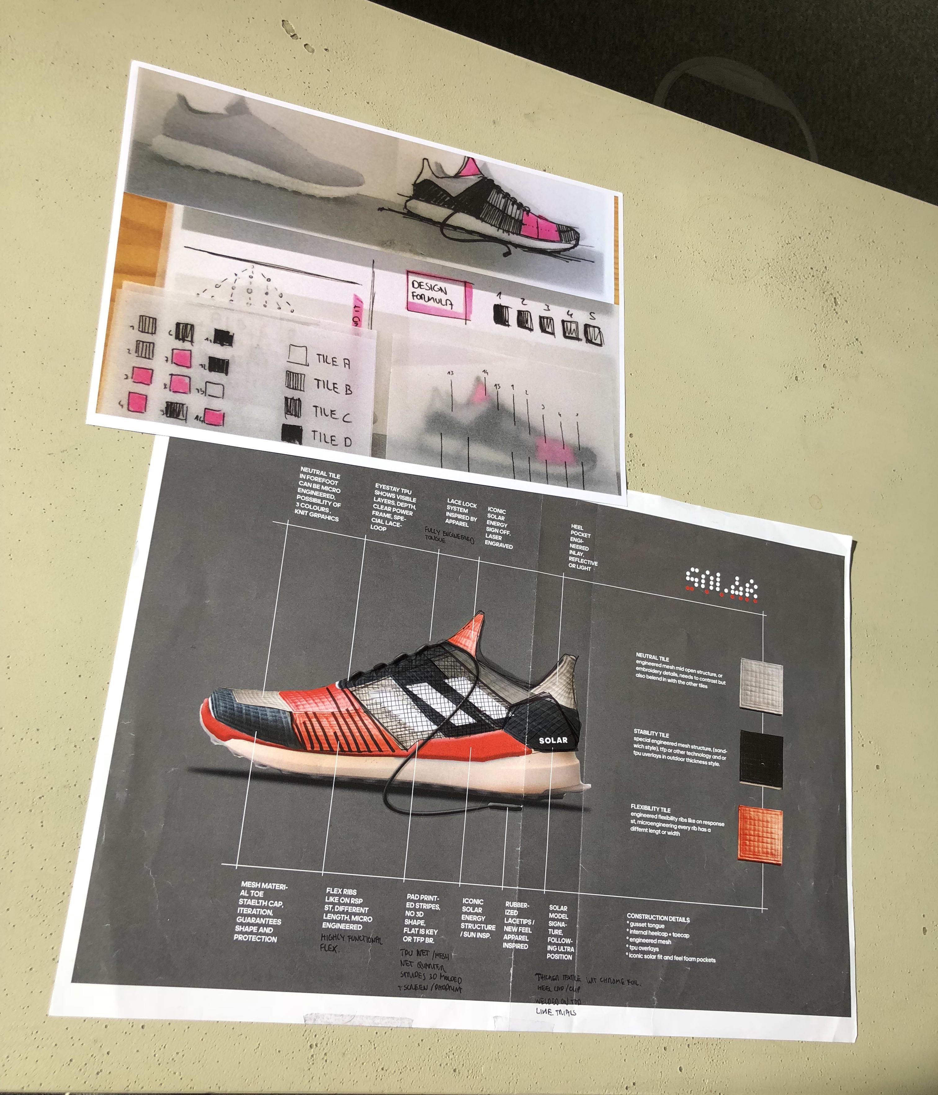 Adidas Solar Boost Sketch