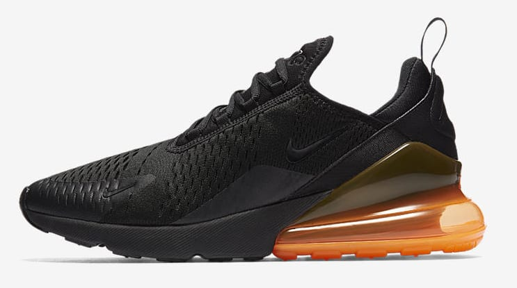 Nike Air Max 270 'Black/Tonal Orange'