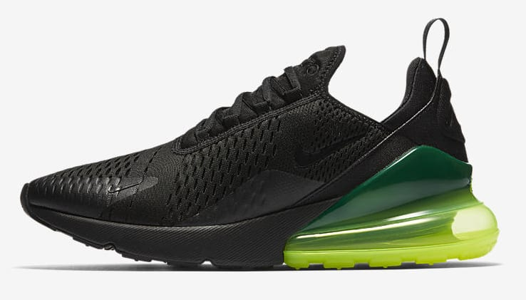 Nike Air Max 270 'Black/Volt'