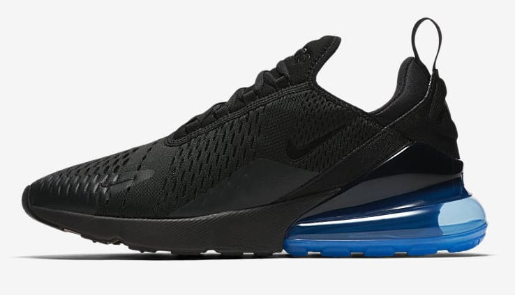 Nike Air Max 270 'Black/Photo Blue'