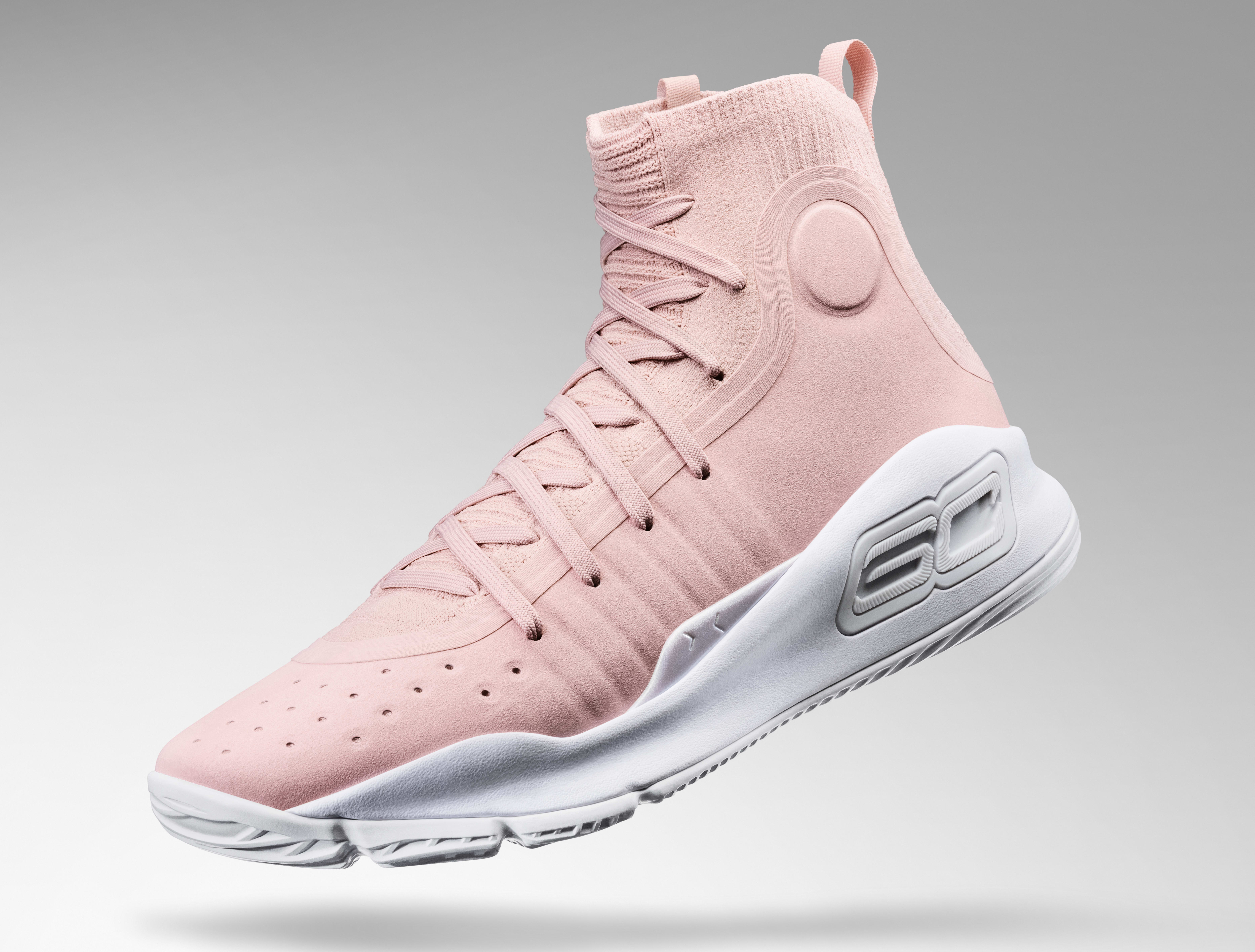 on sale e29ef bcbbd Under Armour Curry 4 'Flushed Pink' Release Date | Sole ...