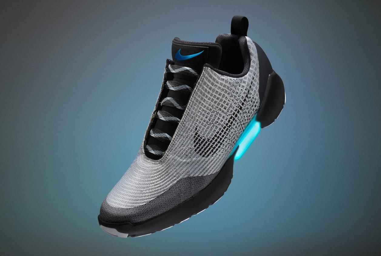 Nike Hyperadapt Silver Black White