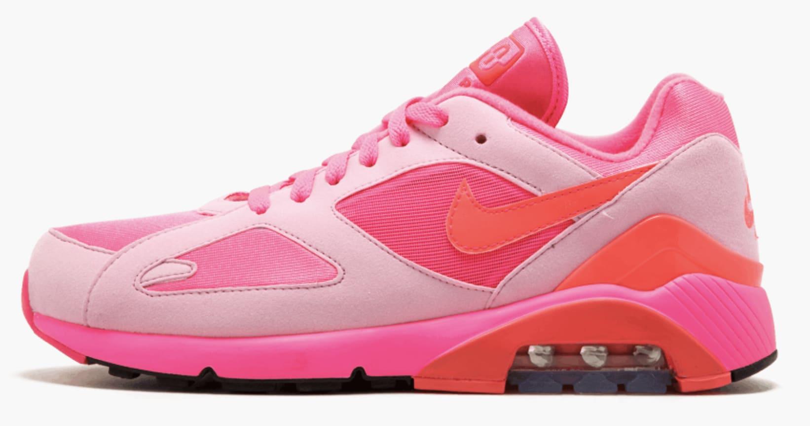 Comme des Garçons x Nike Air Max 180 (Pink)