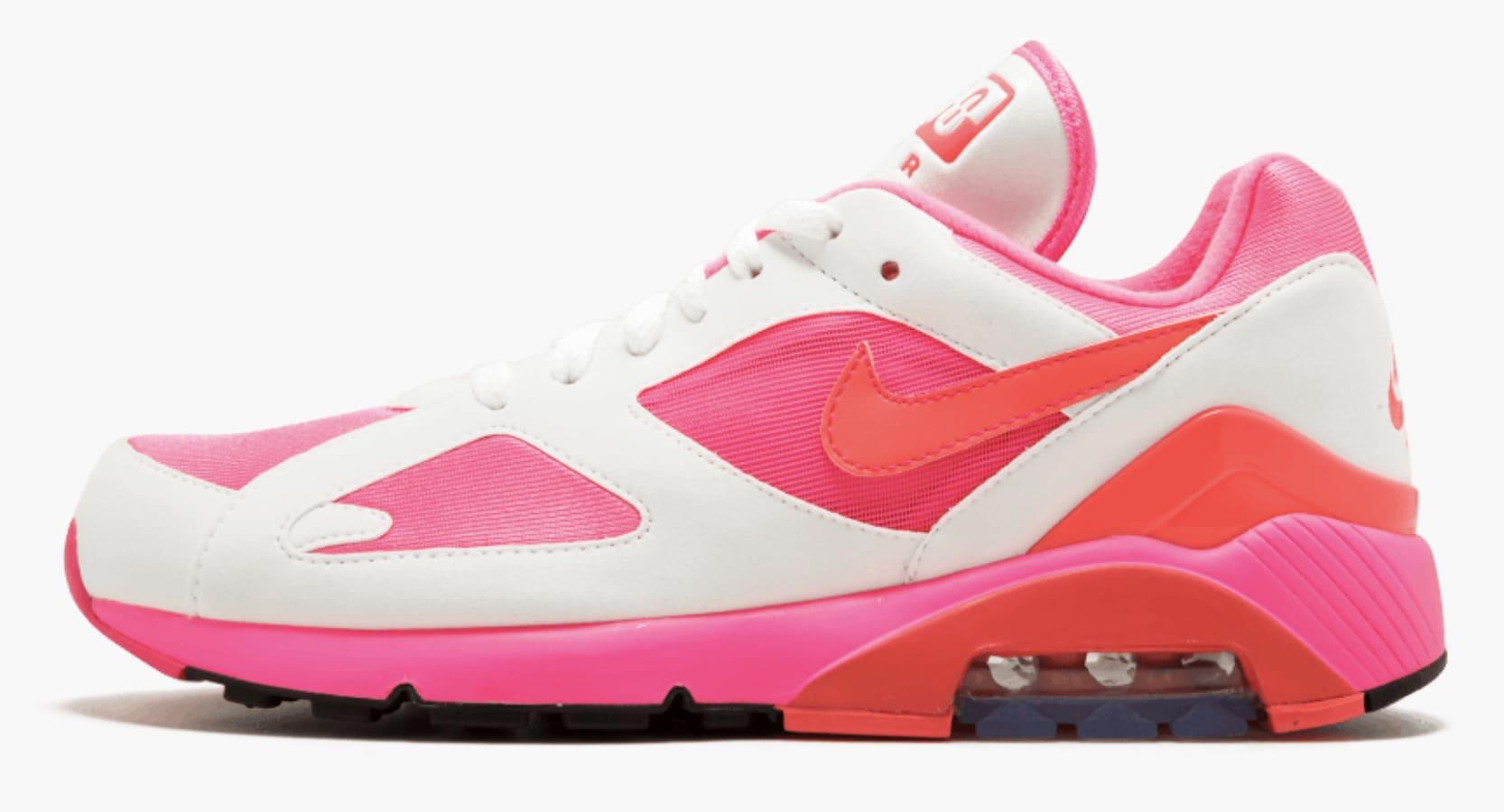 Comme des Garçons x Nike Air Max 180 (White)