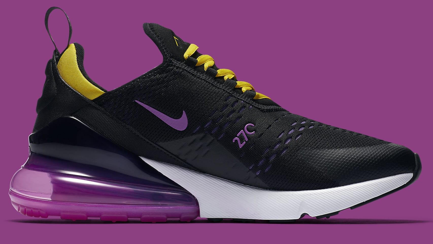 buy popular 4ddd6 bab0b Nike Air Max 270 Los Angeles Lakers | Sole Collector