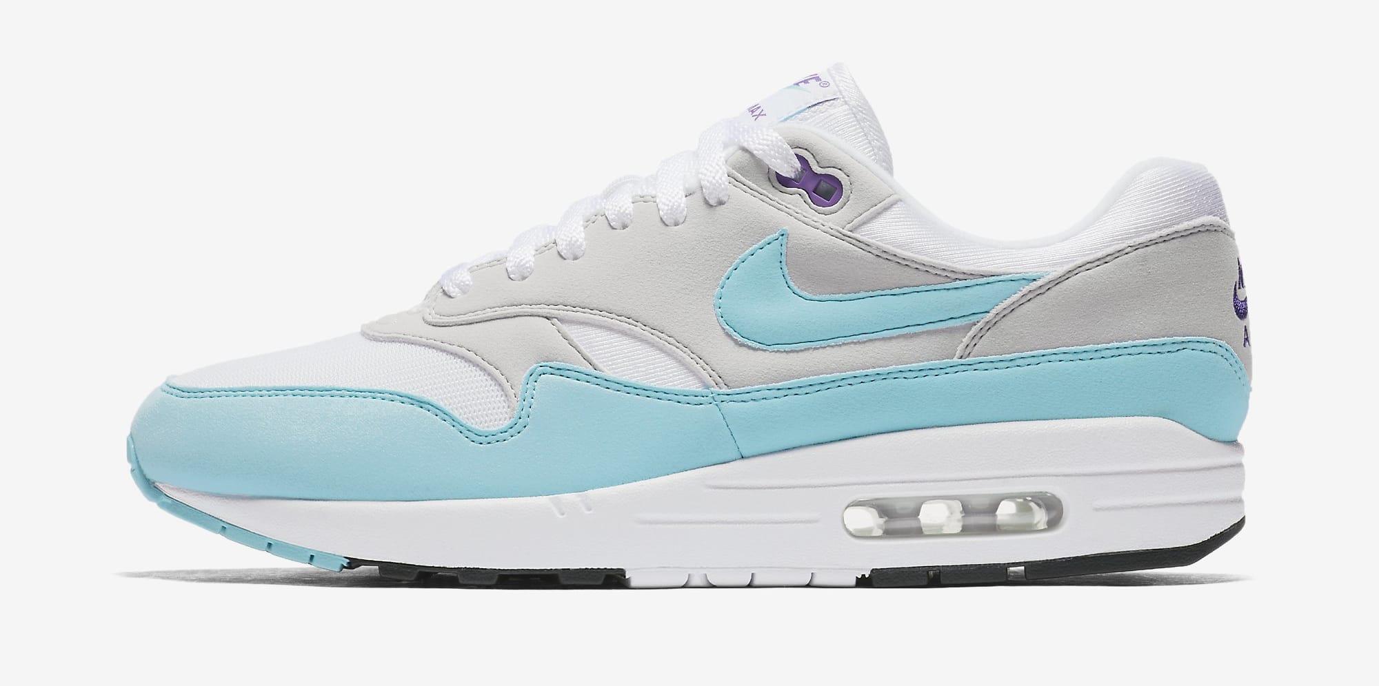 Nike Air Max 1 Anniversary 'Aqua' 908375 105 Release Date