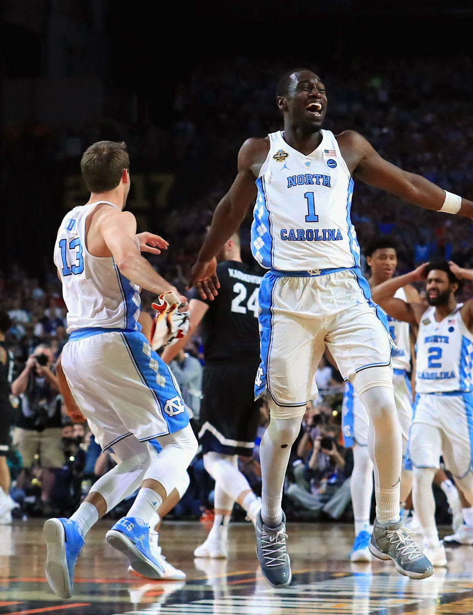 North Carolina Wins the 2017 National Championship in Air Jordans