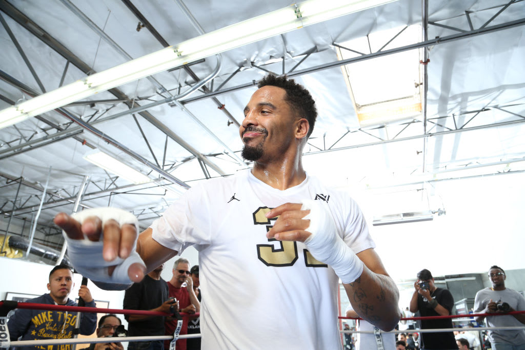 Andre Ward 2017 Workout 2 Getty