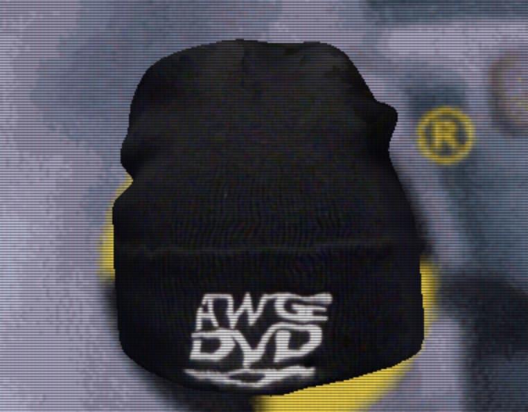 AWGE DVD Beanie Black