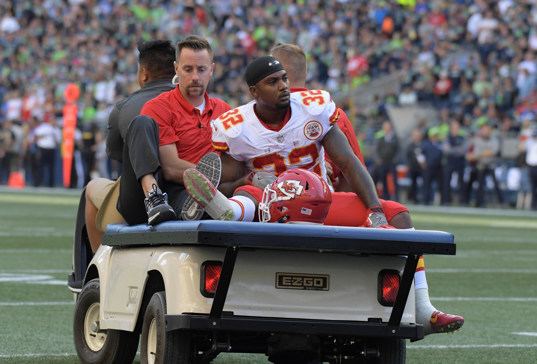 Spencer Ware Injury Chiefs 2017