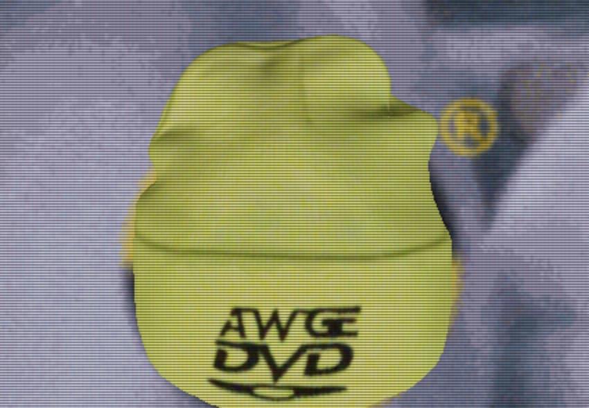 AWGE DVD Beanie Yellow