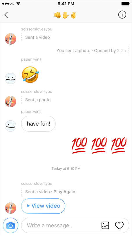 View instagram messages