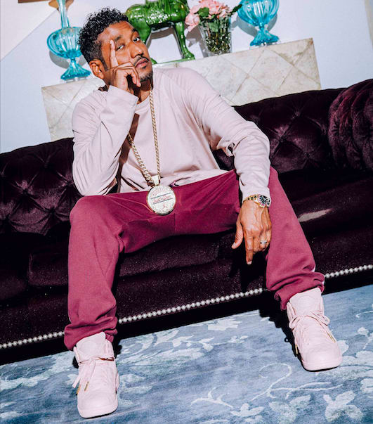Don C wearing Air Jordan II