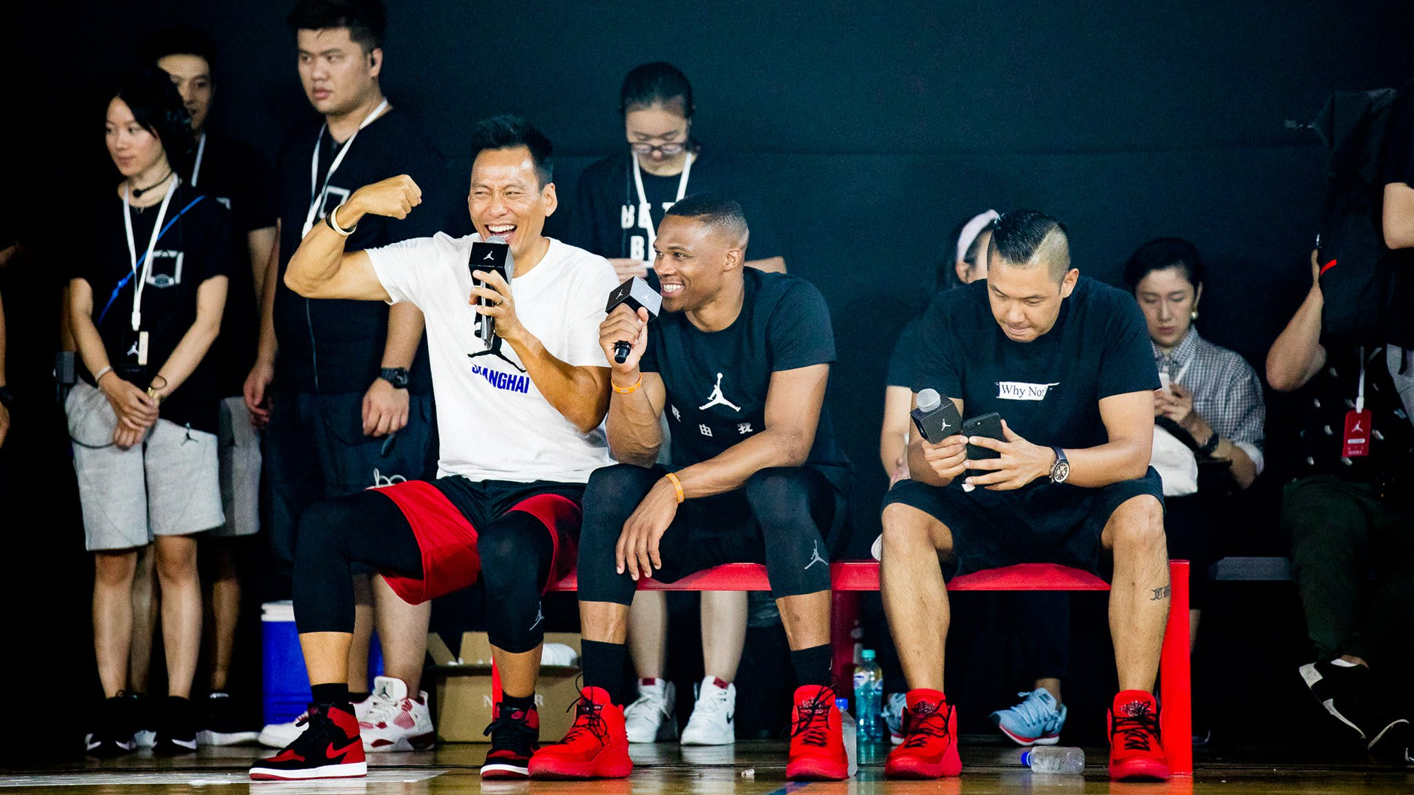 Russell Westbrook Tours China Air Jordan 32 (14)