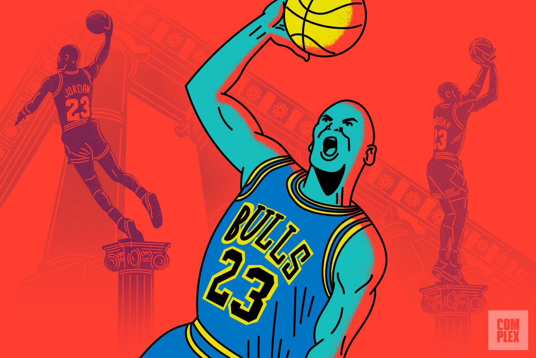 Michael Jordan GOAT 2017 Illustration