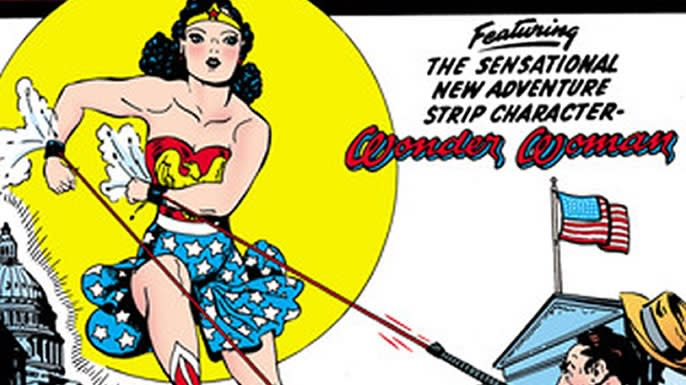 Wonder Woman's Sensation Comics debut