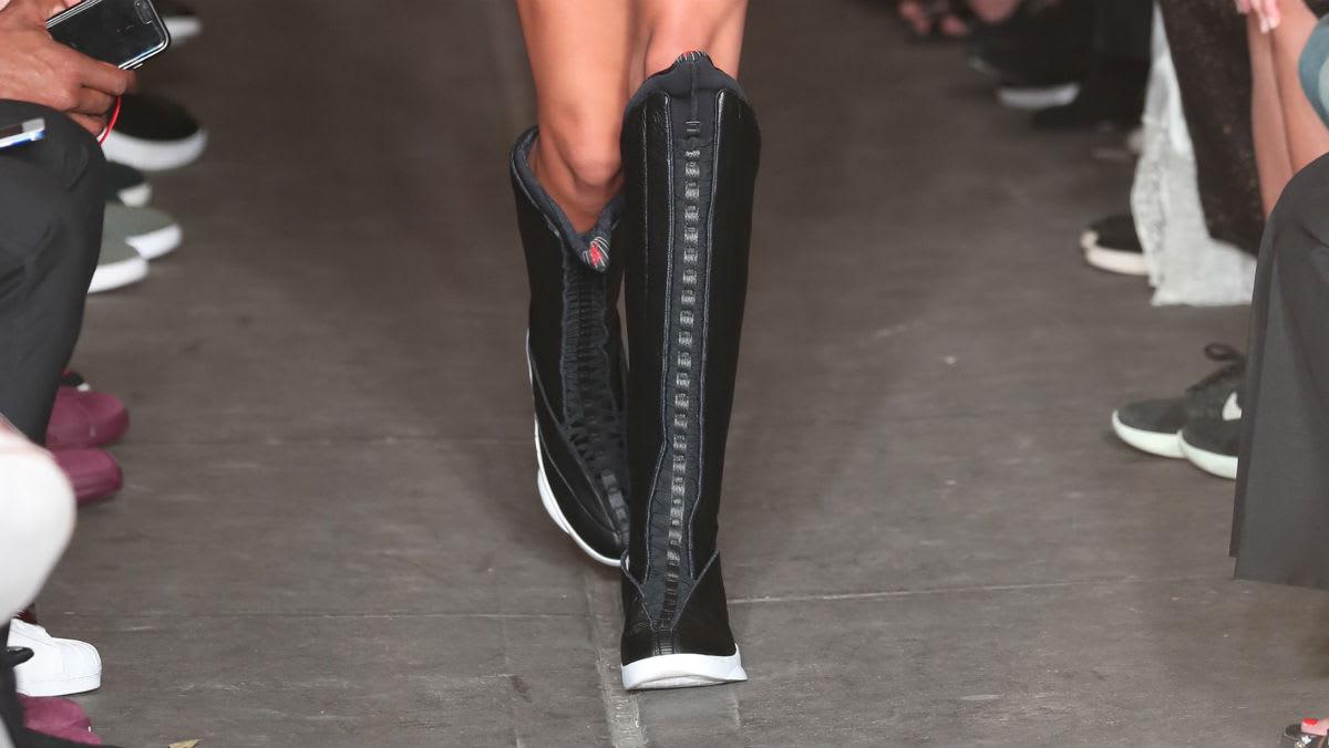 PSNY x Air Jordan 15 Knee-High Boot