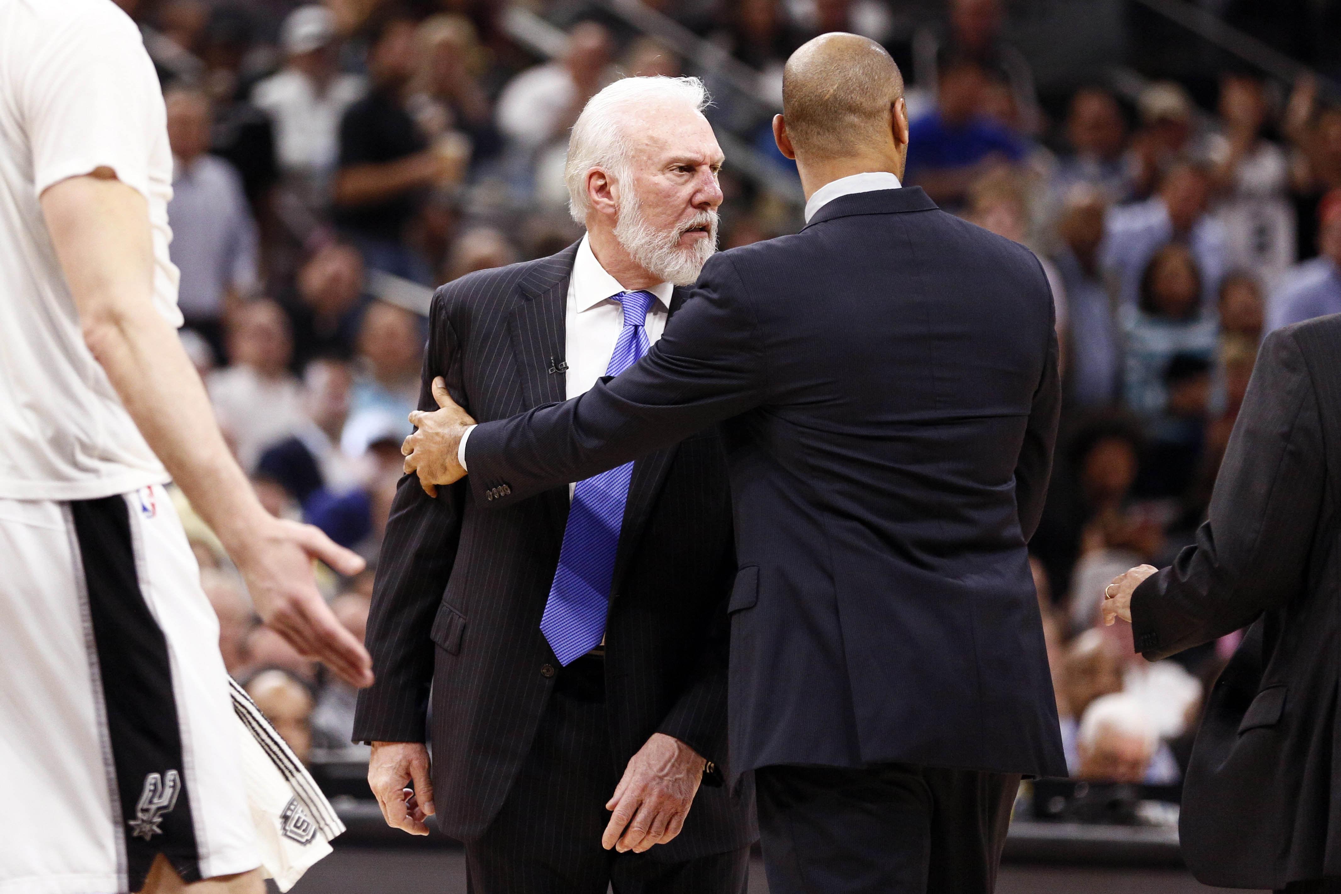 Gregg Popovich Spurs Cavs 2017