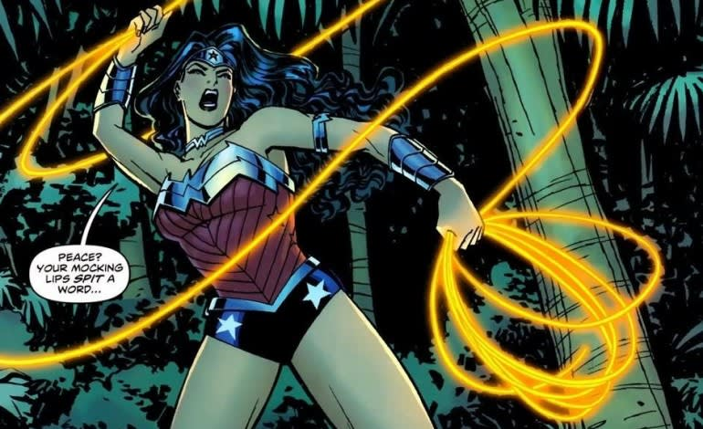 Wonder Woman and her Golden Lasso