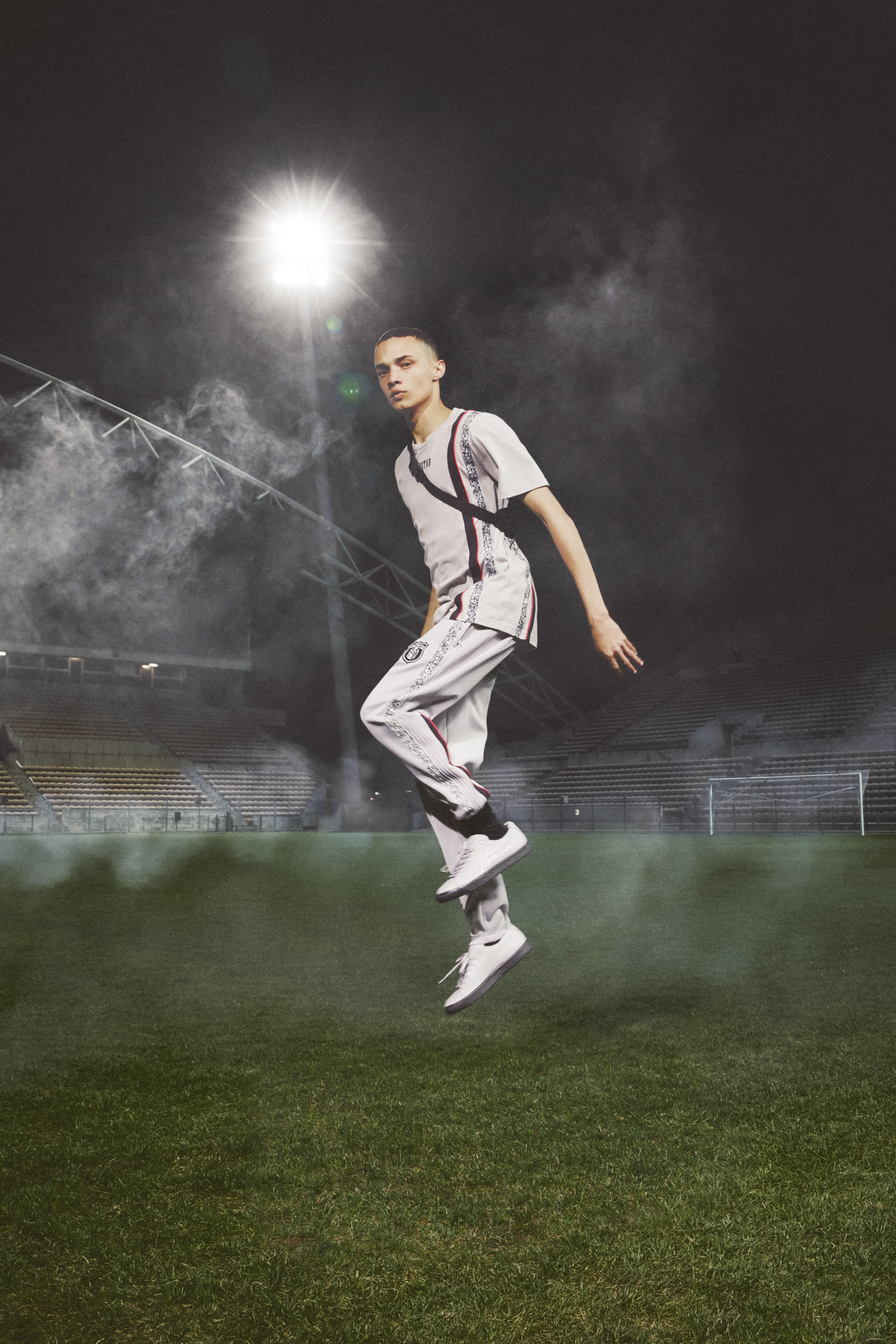 trapstar and puma fall  u0026 39 18 collaboration brings football to the forefront of fashion
