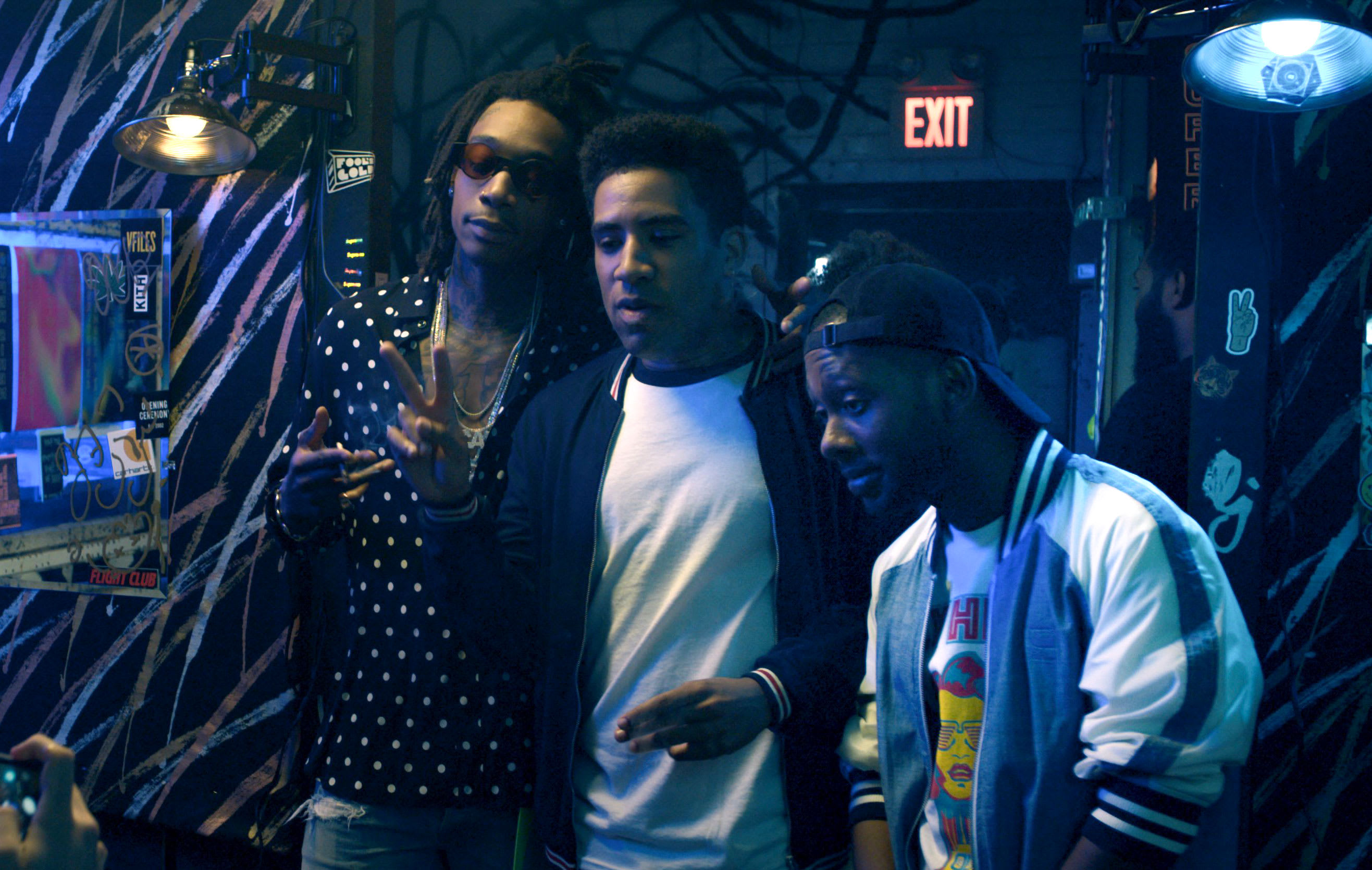 Wiz Khalifa and KYLE in Netflix film 'The After Party'