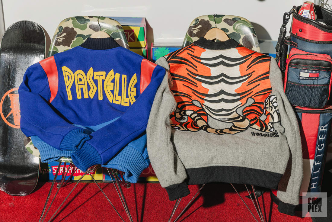 Kanye West's Pastelle Jackets at Round Two Hollywood
