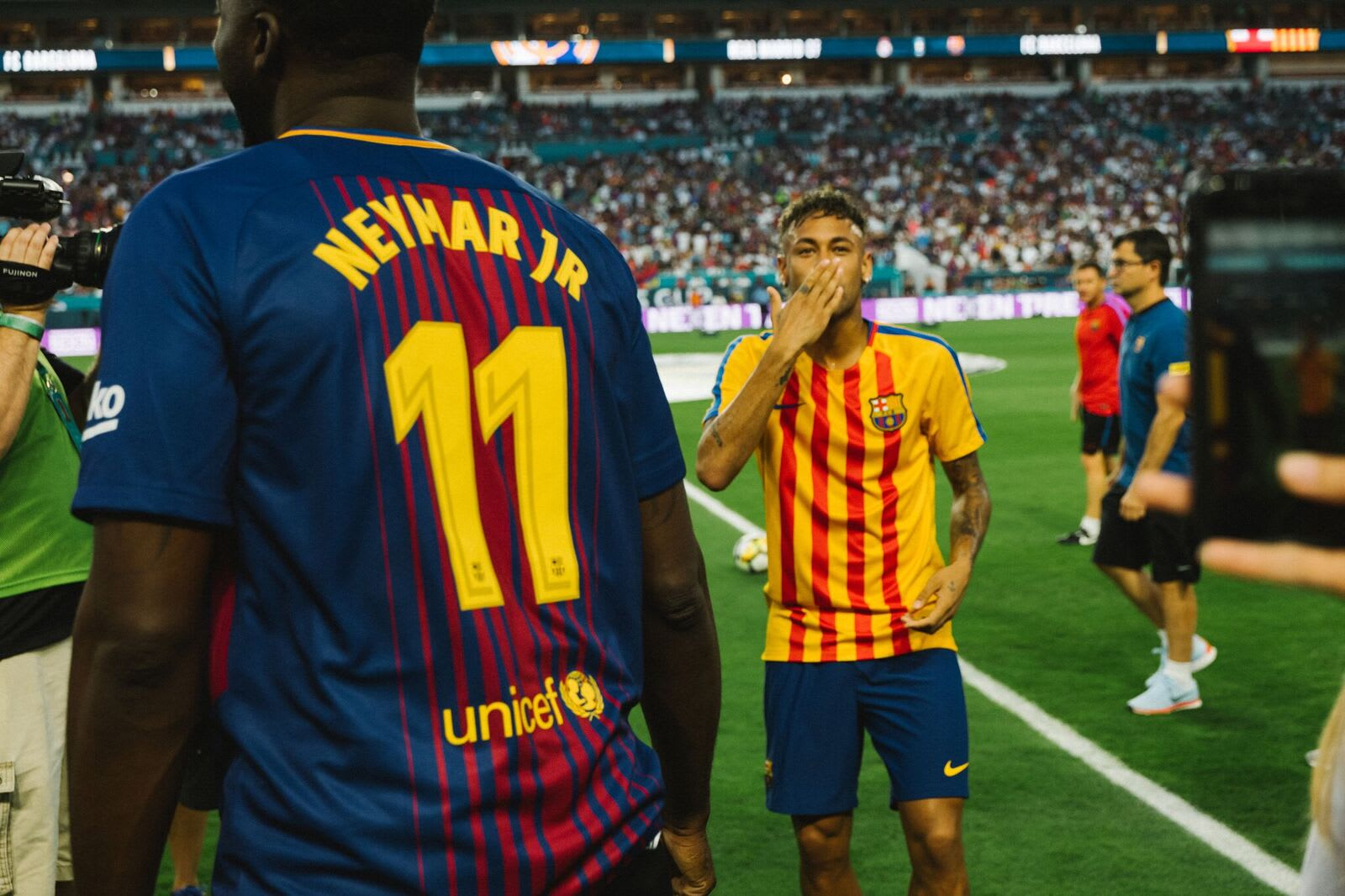neymar and draymond