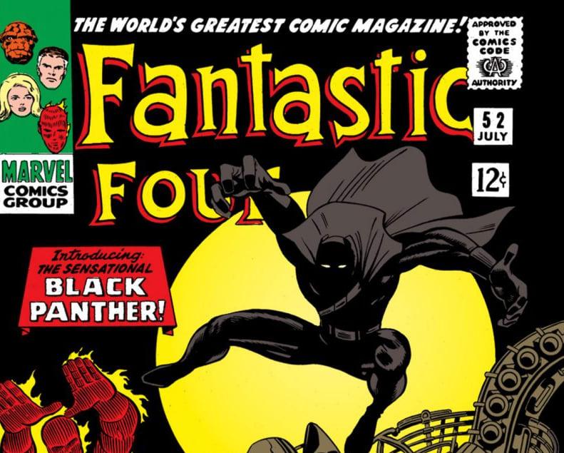 'Fantastic Four' #52 cover