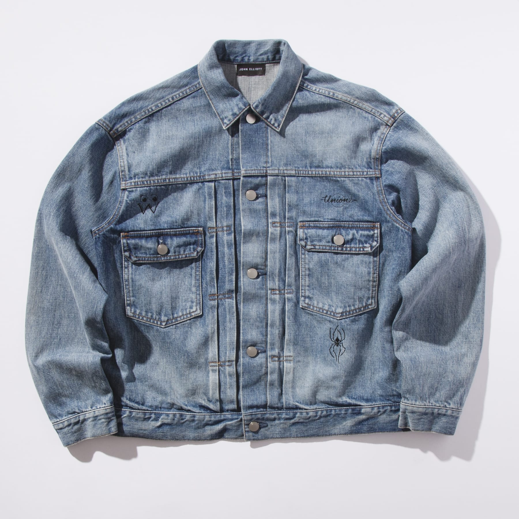 John Elliott x Union x Dr. Woo Selvedge Denim Jacket