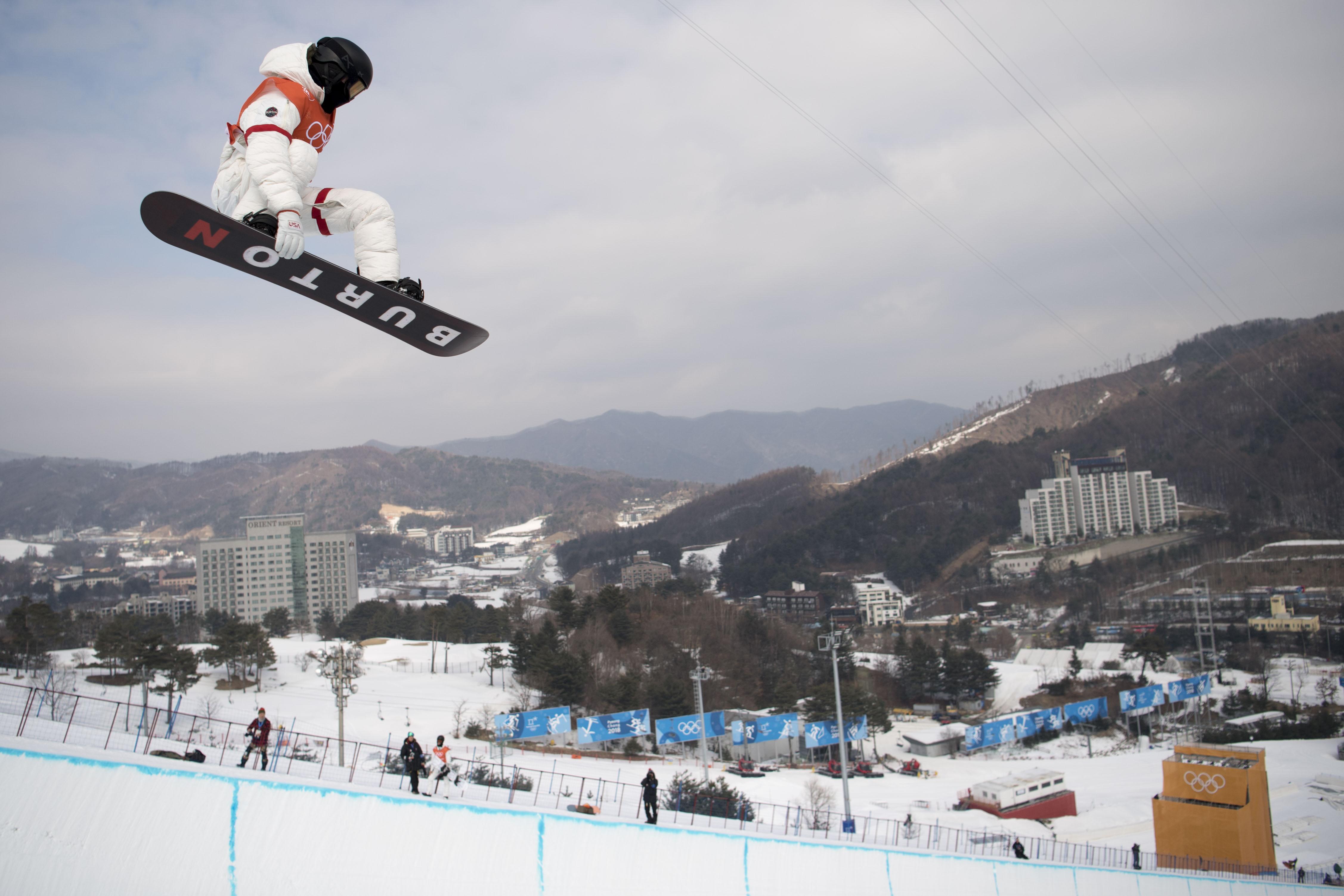 Shaun White Pyeongchang 2018 Olympic Winter Games