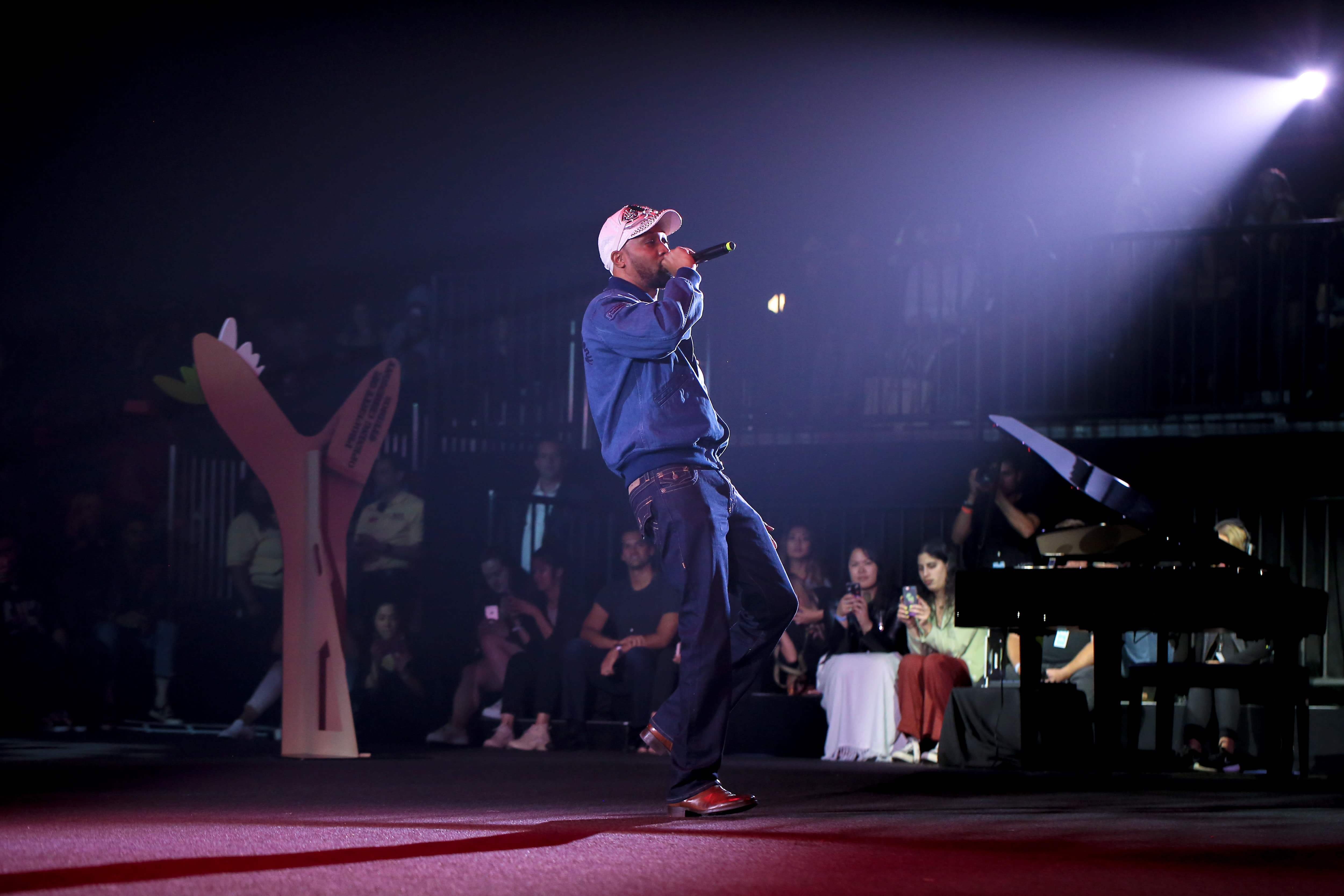 RZA at Opening Ceremony show