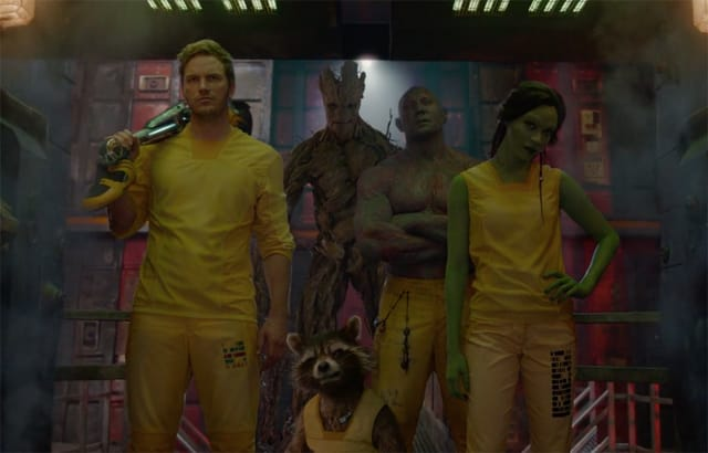 'Guardians of the Galaxy' squad