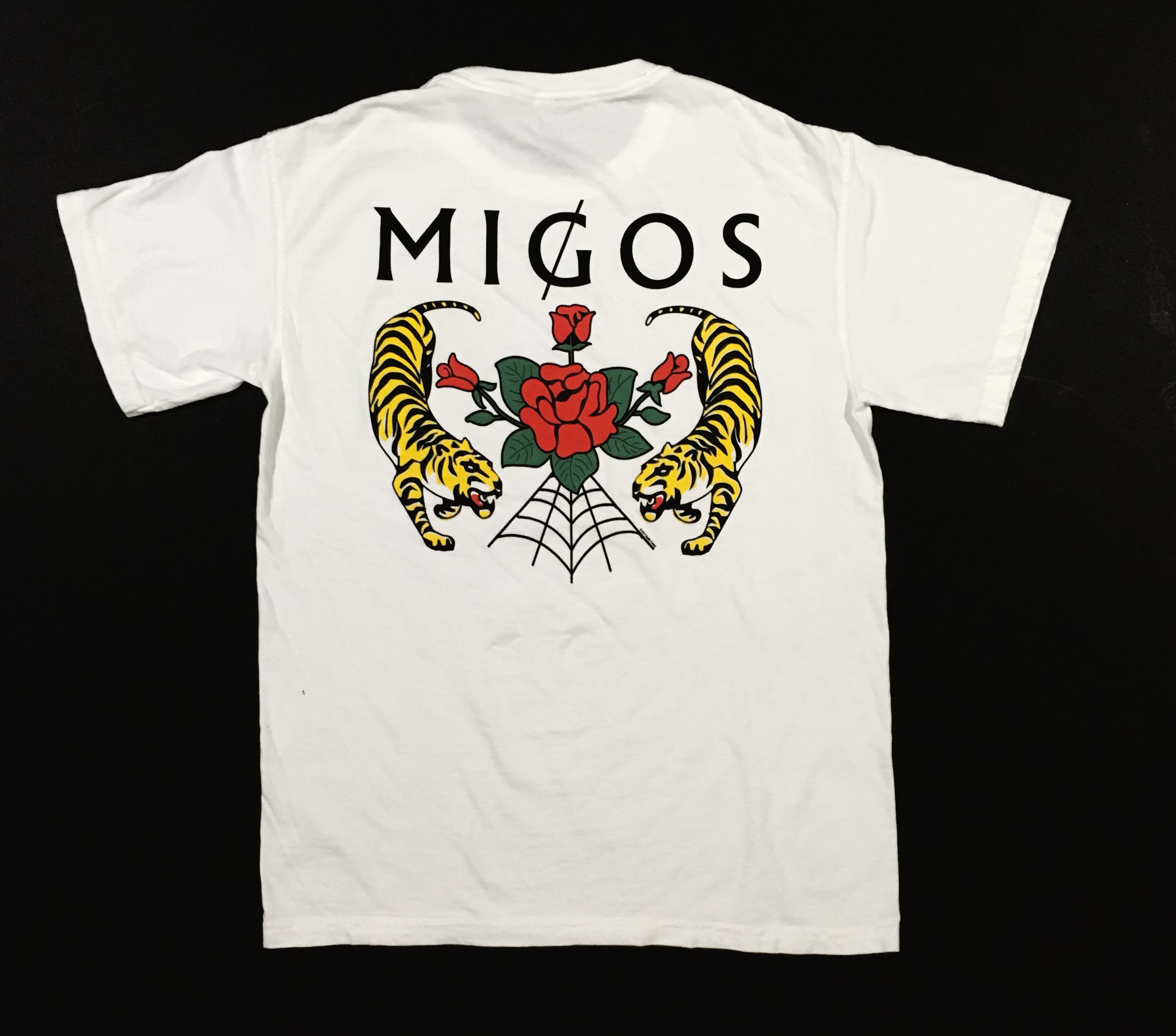 Migos 'Culture II' Merch T-shirt (Back)