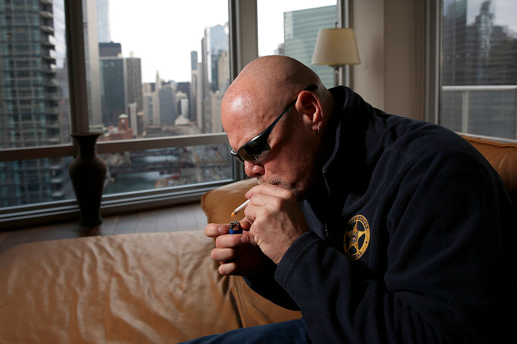 Jim McMahon Smokes Marijuana Getty