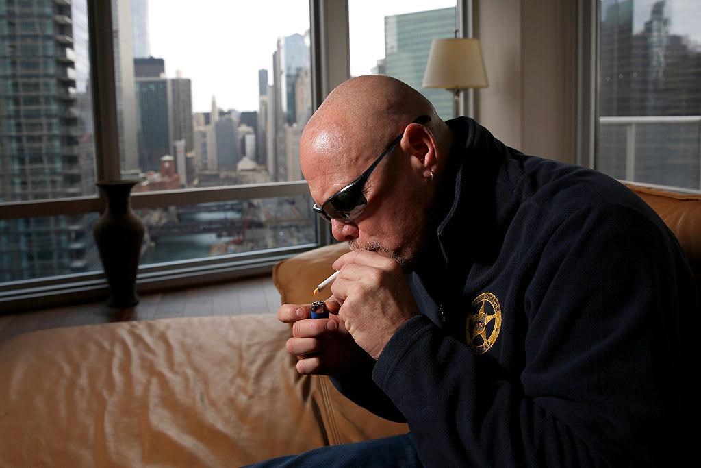 Jim McMahon Smokes Marijuana Getty